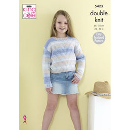 Sweaters in King Cole Beaches Dk