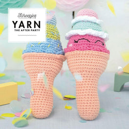 Yarn The After Party 56 Ice Cream Rattle by Joke Postma