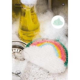 Cloud with Rainbow and Cloud Shower Scrubs in Rico Creative Bubble
