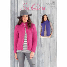 Jacket and Waistcoat in Sublime Lola Super Chunky - Digital Version