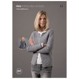 Sweater and Cardigan in Rico Creative Soft Wool Aran - Digital Version