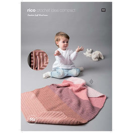 Crotcheted Blankets in Rico Creative Soft Wool Aran