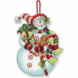 Snowman with Sweets Ornament