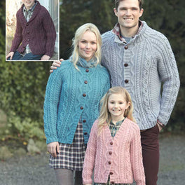 Family Cardigans in Hayfield Bonus Aran - Digital Version