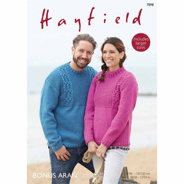 Sweaters in Hayfield Bonus Aran  - Digital Version