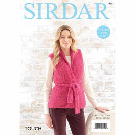 Waistcoat and Jacket in Sirdar Touch - Digital Version