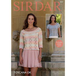 Tops in Sirdar Toscana DK - Digital Version