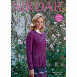 Cardigan in Sirdar No1 - Digital Version