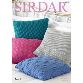 Cushion Covers in Sirdar No1 - Digital Version