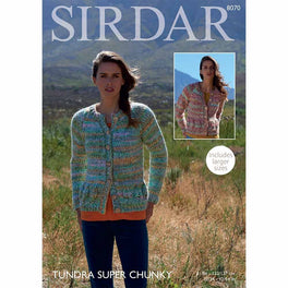 Cardigans in Sirdar Tundra Super Chunky  - Digital Version