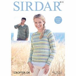 Sweaters in Sirdar Crofter DK - Digital Version