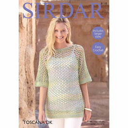 Crochet Top in Sirdar Toscana DK - Digital Version