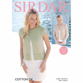 Cardigans in Sirdar Cotton DK - Digital Version
