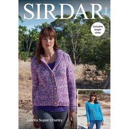Cardigans in Sirdar Tundra Super Chunky
