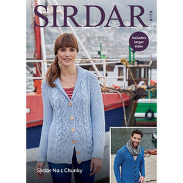 Cardigans in Sirdar No1 Chunky