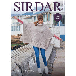 Poncho in Sirdar No1 Chunky