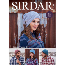 Hats in SIrdar Harrap Tweed DK - Digital Version