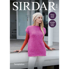 Tunic and Hat in Sirdar Temptation - Digital Version