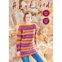 Tunic Sweater in Hayfield Spirit Chunky - Digital Version