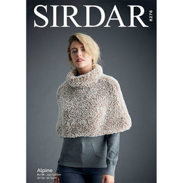 Shoulder Cape in Sirdar Alpine - Digital Version