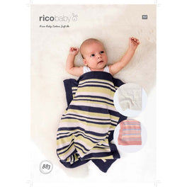 Blankets in Rico Baby Cotton Soft Dk