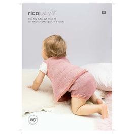 Dress and Panties in Rico Baby Cotton Soft Dk