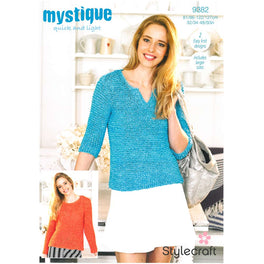 Sweaters in Stylecraft Mystique