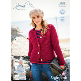 Cardigans in Stylecraft Special XL - Digital Version