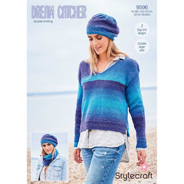 Sweater, Beret and Snood in Stylecraft Dream Catcher