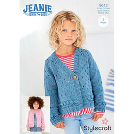 Cardigans in Stylecraft Jeanie Aran Denim Look - Digital Version