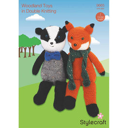 Woodland Toys in Stylecraft Life DK by Emma Varnam - Digital Version