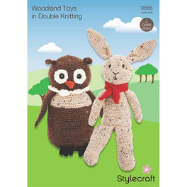 Woodland Toys in Stylecraft Life DK by Emma Varnam