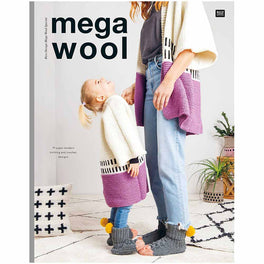 Mega Wool by Rico - 19 super-mpdern knitting and crochet designs