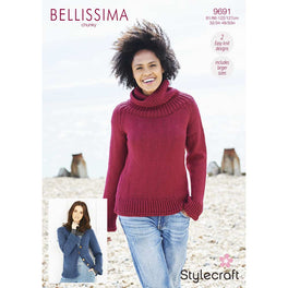 Sweater and Cardigan in Stylecraft Bellissima Chunky