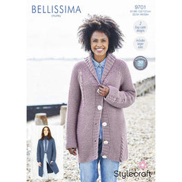 Jacket and Cardigan in Stylecraft Bellissima Chunky