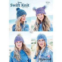 Hats in Stylecraft New Swift Knit Super Chunky