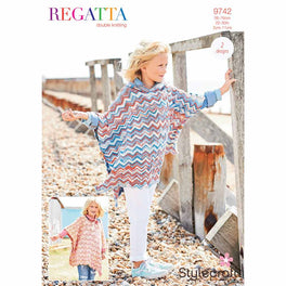 Ponchos in Stylecraft Regatta Dk - Digital Version