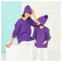 Sweater and Hat in Stylecraft Special Dk 9767