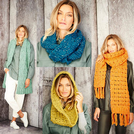 Scarves and Snoods in Stylecraft Special XL Tweed