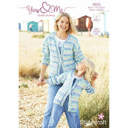 Cardigan and Sweater in Stylecraft You & Me - Digital Version 9825
