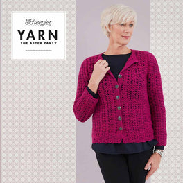 Yarn The After Party 48 Posy Cardigan in Scheepjes Merino Soft