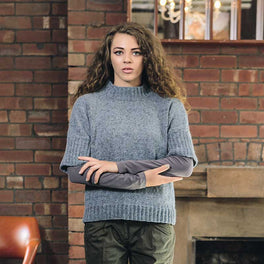 Gemma Top in Rowan Felted Tweed or Kidsilk Haze - Digital Version