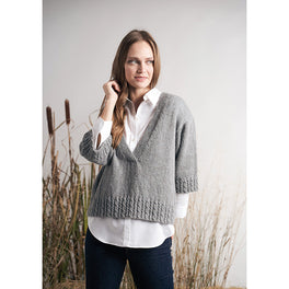 Howe Sweater in Rowan Moordale - Digital Version