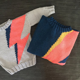 Volt Mini Me Sweater by Sue Stratford
