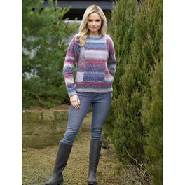 Sweater in James C Brett Marble Chunky