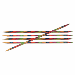 KnitPro Symfonie Double Pointed Pins Set of 5 (15cm)