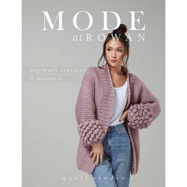 Mode at Rowan Big Wool Textures 6 Projects