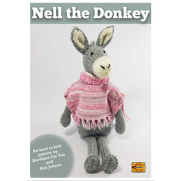 Nell the Donkey in Hayfield Aran by Sue Jobson