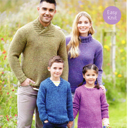 Sweaters in Sirdar Harrap Tweed Chunky