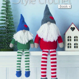 King Cole Scandinavian Style Crochet Book 1 by Zoe Halstead